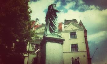 Toruń, gród Kopernika